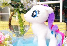 So fluffy unicorn by Valexis Table Design
