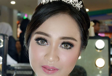 Wedding Makeup for Fristy by IMELDAPROMAKEUP
