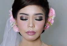 Wedding Makeup For Yuan by IMELDAPROMAKEUP