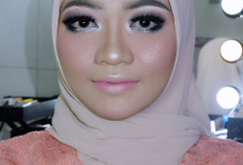 Makeup Engagement Desie by IMELDAPROMAKEUP