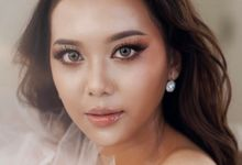 Wedding Glowing Glass Skin Makeup by CV Makeupartist by Claudia Vanessa
