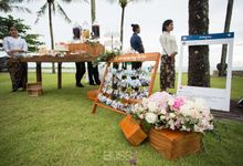 A wonderful rustic style wedding at Jivana villas Natai beach by BLISS Events & Weddings Thailand