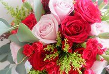 Laura & Oscar Wedding by Amarante Flower Boutique