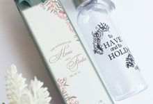 Plastic Bottle - Hans & Firda by Red Ribbon Gift