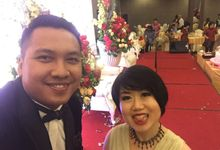 Wedding of David and Novita Hendry Yani by MC Mandarin Linda Lin