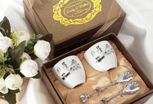 Teacup Set - Ruddy & Mellisa by Red Ribbon Gift