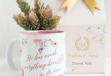 Mug Colour Inside - William & Susan by Red Ribbon Gift