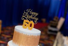50th Birthday Celebration by Cakes 'n' Bakes