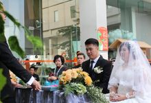 Wedding of Robby & Debrina 12 August 2017 by HARRIS POP Hotels & Convention Gubeng