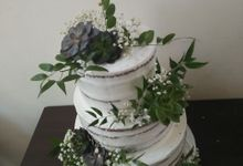 Green With Succalene by Sugaria cake