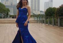 Royal Blue by Beautyline Usher & Pagar Ayu