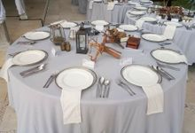 Andy and Hannah Wedding by Bali Bakery Catering Service
