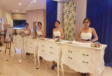 White And Royal Blue by Beautyline Usher & Pagar Ayu