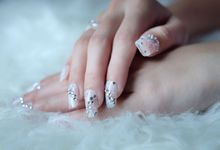 Wedding Nails (1) by Slovencya Nails