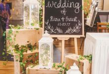 Reception Decor Styling by Dorcas Floral