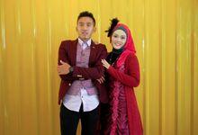Prewedding Reni by Mezuira MakeUp & Hijab Style