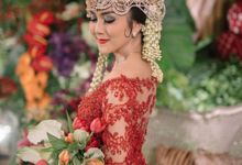 Deasy & Valdi Reception by Maha Kebaya