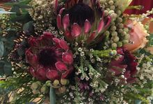 Church Wedding Venue Styling by Dorcas Floral