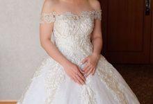 Classic Wedding Gown by evelingunawijaya