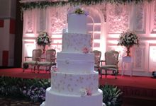 #LM Wedding by Cakes 'n' Bakes