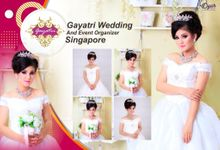 Wedding Indonesia,singapore by Gayatri Wedding