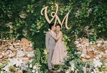 The Engagement of Victor & Mona by Farine Pastry