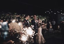 MC WEDDING GUSTIN & JENNY AT FAIRMONT HOTEL SANUR by Aldo Adela MC & Magician