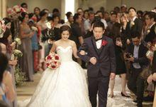 Edward & Tresy Wedding Day by House of Luxury