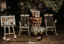 The Wedding Of Chaca And Yudhi by Sakka Decoration