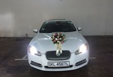 Jaguar XF Flux by Victoria Wedding Collection