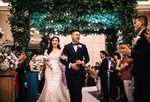 Andrie & Jessica Wedding by evelingunawijaya