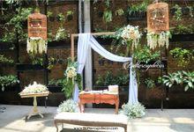 The Wedding of Yuyung & Rivia by Blue Jasmine Restaurant