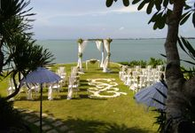 Wedding Garden Decoration by Jc Florist Bali