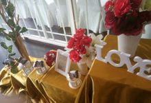 Wedding Table decor by Lavie Planner