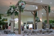 Wedding Of Kiky & Jimmy by Helen's Catering