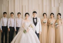 Graceful Wedding Of Hantono & Winda by All Occasions Wedding Planner