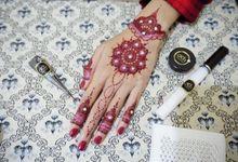 Henna Maroon by Henna By Nadia