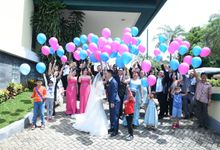 HANS & AYREN WEDDING 28 April 2018 by Priceless Wedding Planner & Organizer