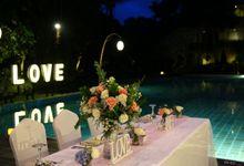 Stefan & Prudensy - Wedding Reception by Le Grande Bali Uluwatu