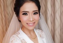 wedding makeup for Ms Quinn by Poppy Ludovita MUA