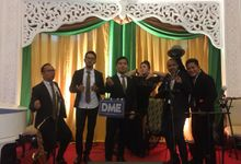 Wedding Akbar & Sheila At Balai Sudirman by dewwimusicentertainment