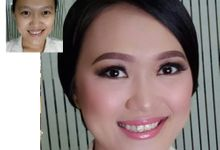 Make Up Before After by Michelle Bridal