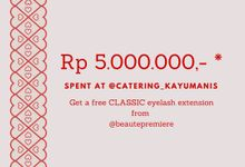 Promo FREE Eyelash Extension by Kayumanis Catering