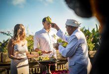 VIKTORIYA & KONSTANTINE WEDDING by Visesa Ubud