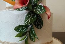 The Tropical Wedding Cake by Sugaria cake