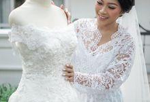 The Bride : Hesti by Vivian Taslim's Make - up