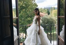 Danielle Wedding At Tuscany by Bridal Luxury Beauty Service