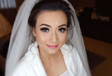 Dian's Wedding Makeup & Dress By Oscar Daniel by Oscar Daniel