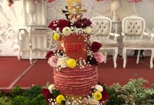 2018 Project Wedding Tiers Cake by FIOR FIORE Patisserie
