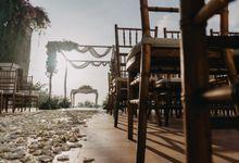 Cliff Wedding by Just Married Bali Wedding